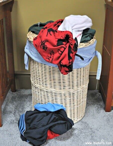 Laundry in Need of a Home1 Simple Solutions for Dirty Clothes!