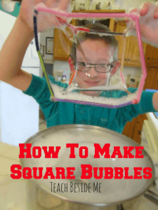 Square Bubble- Teach Besdide Me