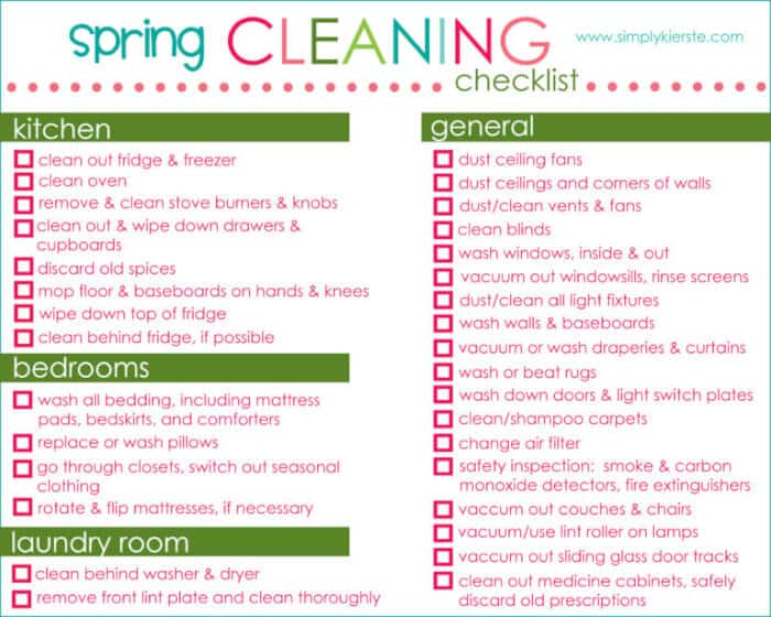 """How do you feel about """"Spring Cleaning""""? {FREE Printables!}"""