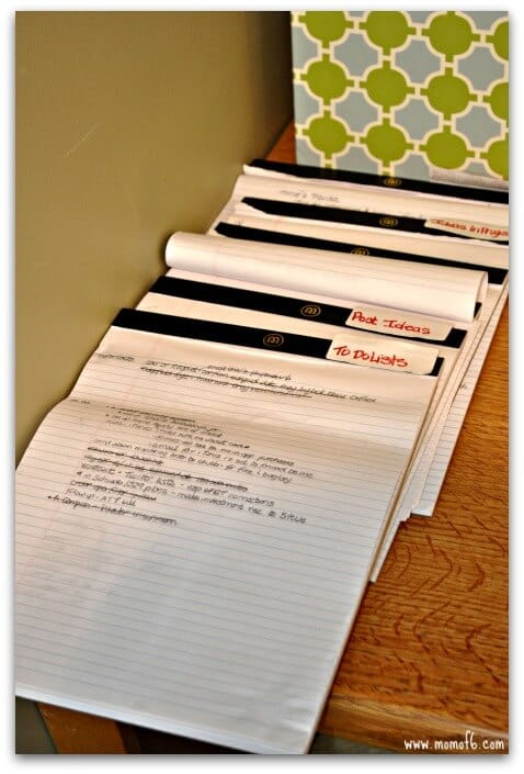 Organizing the Home Office with Washi Tape- to do lists.jpg