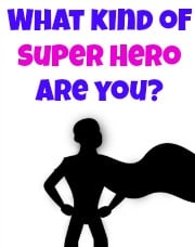 Post image for What Kind of Super Hero Are You?