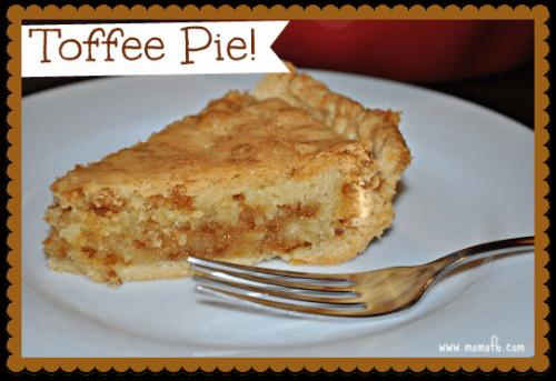 Toffee Pie