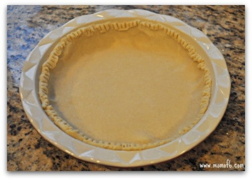 Toffee Pie-crust