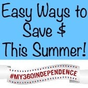 Easy Ways to Save $ This Summer