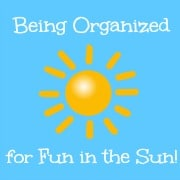 Organizing Sunscreen and Sunglasses for Fun in the Sun!
