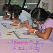 Beados Party Badge- Large