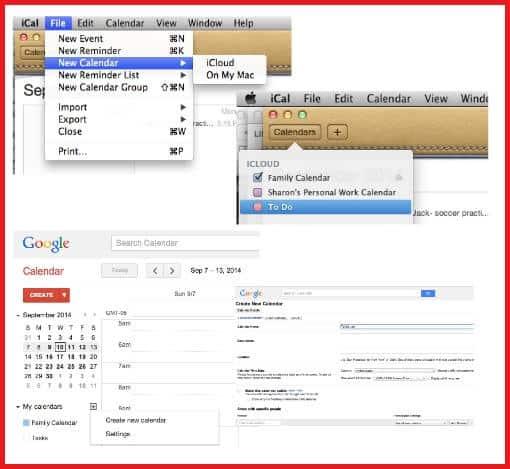Create new calendar- blog
