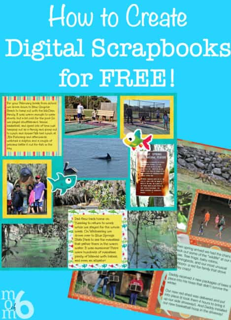 How to Create Digital Scrapbooks for Free