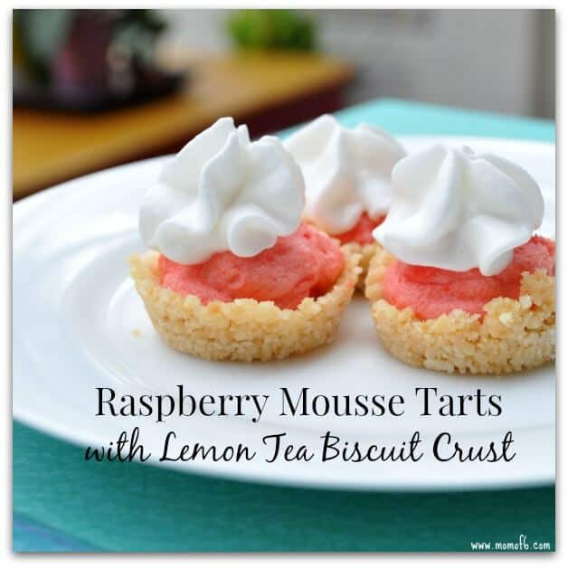 raspberry lemon mousse tart a raspberry mousse is strawberry mousse ...