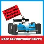 Race Car Birthday Party 180px