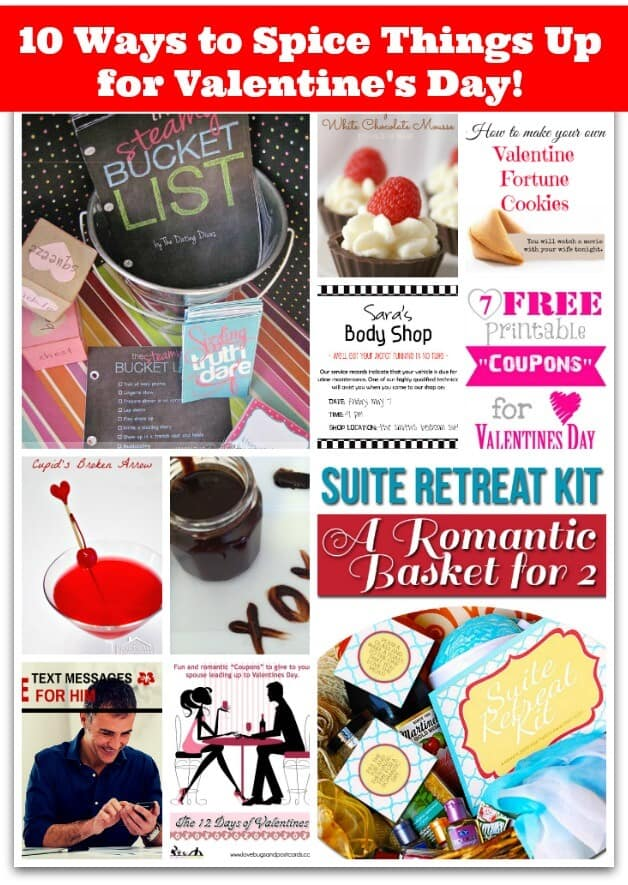 10 ways to spice things up for valentines day momof6 for Great things to do for valentines day