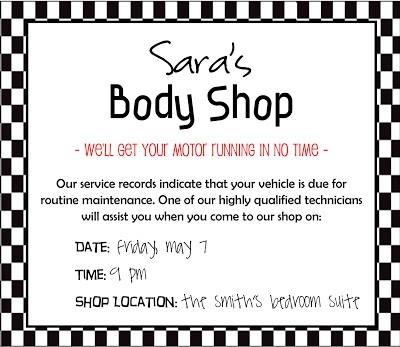 Body Shop Example