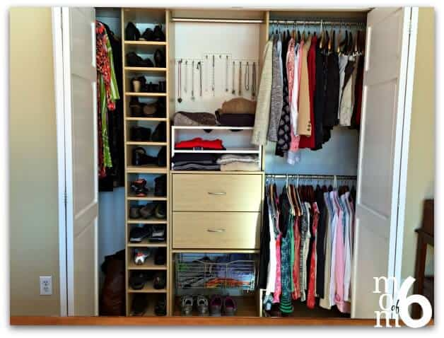 If the idea of organizing your closet seems too overwhelming- why not try these tips to break down closet organization into manageable steps?