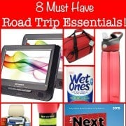 If your family loves to take road trips, here are 8 must-have road trip essentials! (From a Mom of 6 kids!)