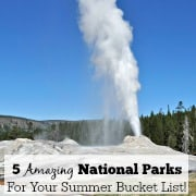 5 Amazing National Parks For Your Summer Bucket List!