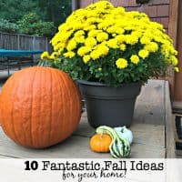 10 Fantastic Fall Ideas for Your Home!