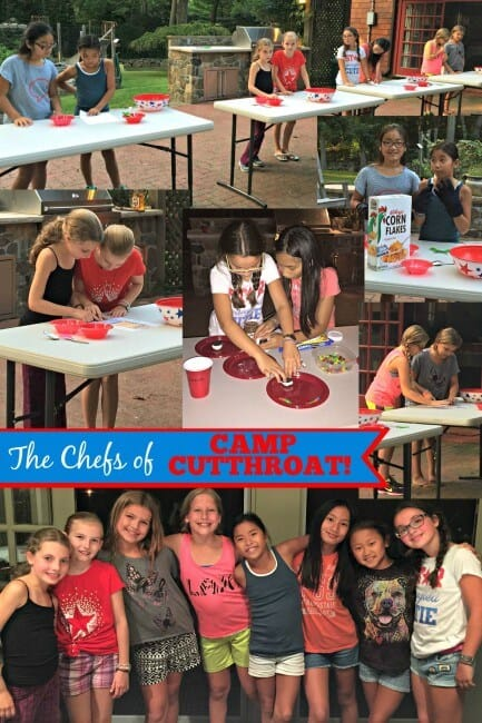 Everything you need to host a Cutthroat Kitchen birthday party at home! This post includes free printable birthday party invites, ideas for cooking competitions and sabotages and lots of tips on how to make your Cutthroat Kitchen Birthday Party awesome!