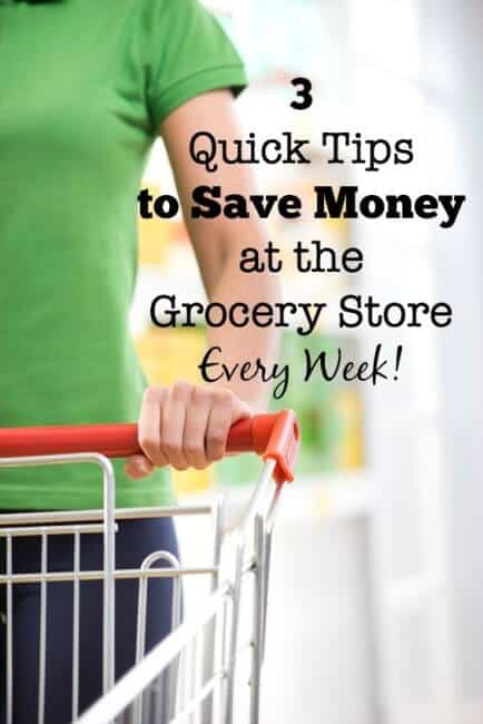 When people think about saving money at the grocery store, the first thing that comes to mind in clipping coupons. But coupons are not what gets you the biggest grocery savings each week. Here's how you can really save money with 3 things you need to do each week to save money at the grocery store: