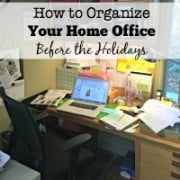 Home Office for the Holidays Square