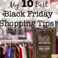 My 10 Best Black Friday Shopping Tips!