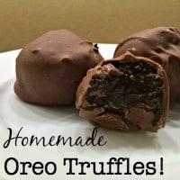 Easy 3-Ingredient Oreo Truffles!