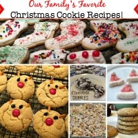 Christmas cookies are a tradition in my home, and I know I am raising the next generation of holiday cookie bakers! These are the Christmas cookie recipes that we love, and that I will be making this year!