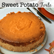 Is it a side dish or a dessert? You'll have to decide for yourself- but I promise you that this sweet potato torte recipe is one everyone will be talking about for a long time!
