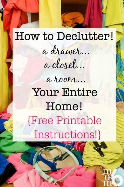 You just can't be the organized person you aspire to be if you are buried in stuff. Paperwork, clothing, collectibles, gadgets- it doesn't matter what it is- if you own more than you use, need, or love- you have too much of it! Knowing how to declutter is one of the most powerful tools I use in my personal organizing arsenal, and it makes a monumental difference in running an organized home!