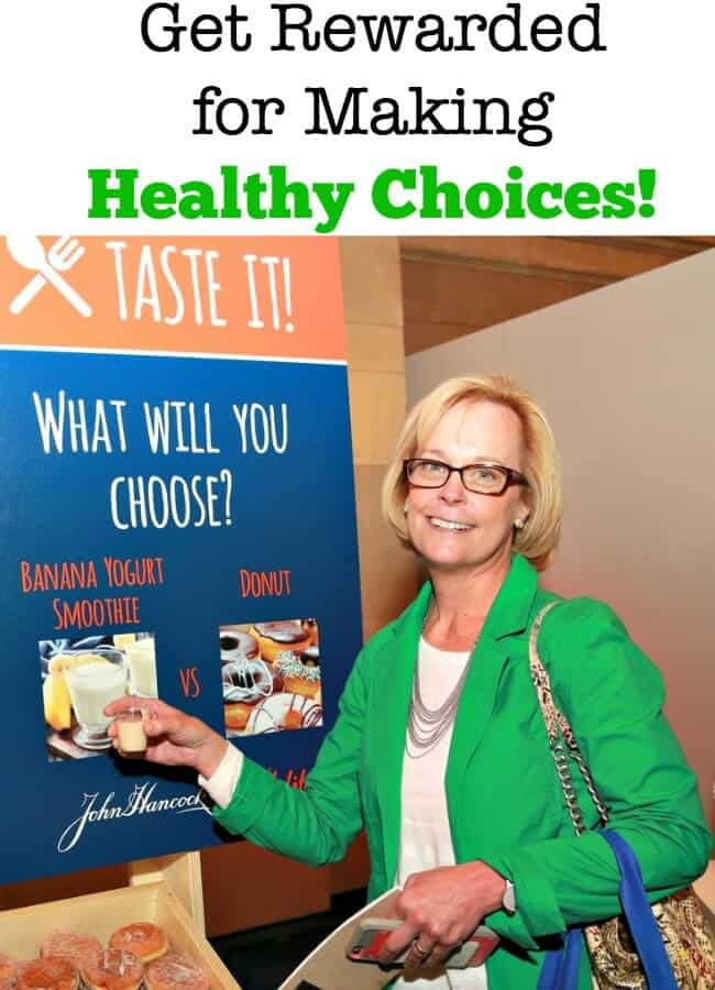 It can be difficult to make healthy choices in the moment! Especially when there are other options that seem to deliver short-term satisfaction! But John Hancock Insurance, in partnership wth Vitality, is aiming to help all of us make better decisions, and for that- we can be rewarded for making healthy choices! #sponsored #RewardingLife