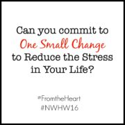 Commit to One Small Change