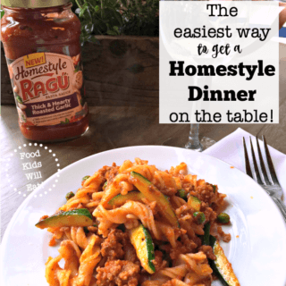 The Easiest Way to Get a Homestyle Dinner On the Table!