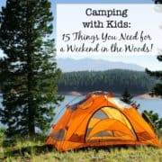 Camping with Kids- Lg Sq
