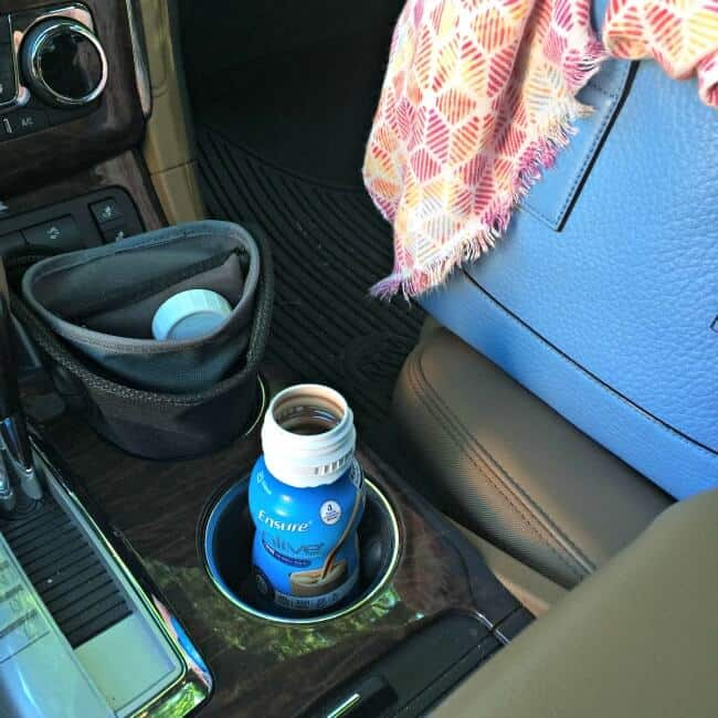 ensure in cup holder1