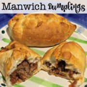 Some busy nights just call for a recipe that takes just a few ingredients and can be on the table in less than 30 minutes. Manwich Dumplings is one of my go-to recipes for those kinds of nights!