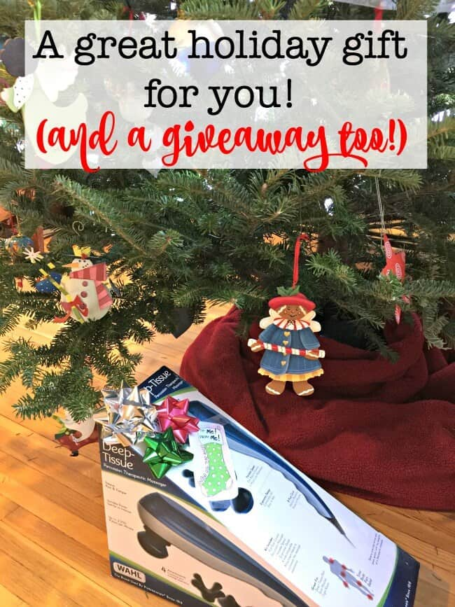 #ad #WahlMassagers #VN Muscles sore and achy from too much holiday activity? I've got just the thing! And I've giving one away too!